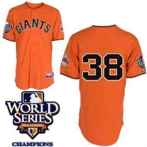 baseball jerseys san francisco giants 38 orange 2010 world