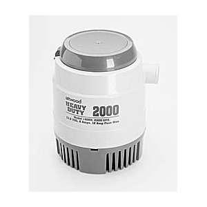 Heavy Duty Bilge Pumps (Model HD2000 / Volts 12v / Amps