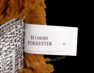 Plush Reddish Brown TEDDY BEAR Stuffed Animal Toy 9 Lovey RARE