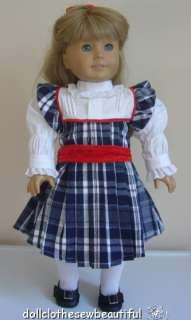 Holiday Dress Set fits American Girl Nellie Doll WOW