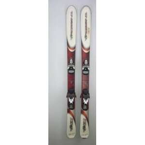 Used Rossignol Bandit B1 Jr Snow Skis with Rossignol Comp