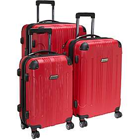 Coleman Luggage Torino 3 piece Hard shell Expandable Spinner Luggage