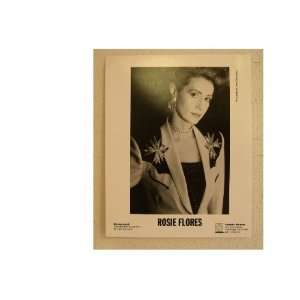 Rosie Flores Press Kit Photo Short Hair