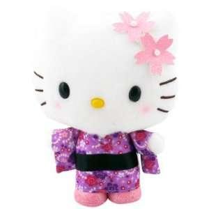 Hello Kitty Kimono Plush Light Pink Flower Toys & Games