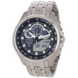 Citizen Mens JW0030 55E Eco Drive Promaster SST Titanium Watch