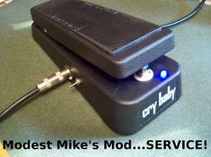 Dunlop Cry Baby or Vox Wah Pedal MOD SERVICE on PopScreen