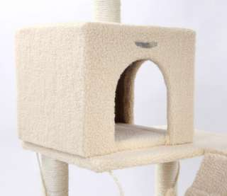 55 Cat Tree Condo House Scratcher Pet Furniture Bed 03