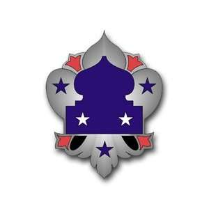 United States Army Fifth US Army Unit Crest Patch Decal
