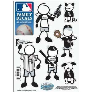BSS   Chicago White Sox MLB Family Car Decal Set (Small