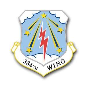 US Air Force 384th Wing Decal Sticker 3.8 Everything