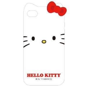 Sanrio Hello Kitty Character TPU Cover for iPhone 4S/4