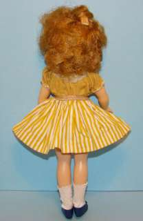 C1958 60 Ideal Shirley Temple Doll Playsuit High Color