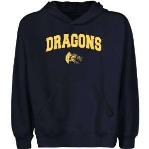 Drexel Dragons Youth Navy Blue Logo Arch Pullover Hoody Sports