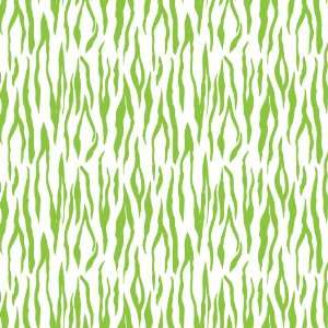 TIGER STRIPE WHITE & LIME PATTERN Vinyl Decal Sheets 12x12 x 3 Great