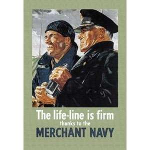 Line is Firm, Thanks to the Merchant Navy   01044 4