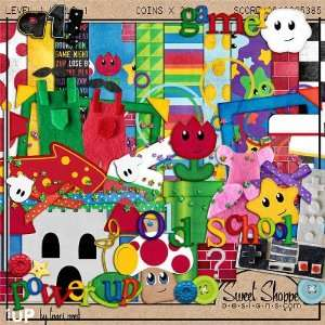 : Digital Scrapbooking Kit: 1Up by Traci Reed: Arts, Crafts & Sewing