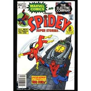 Spidey Super Stories (Marvel Comic #32) March 1978 Spiderman Books
