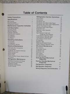 Thermo King MTJ Refrigeration Unit Maintenance Manual |