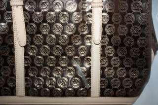 MICHAEL Michael Kors Monogram Amagansett Large Tote Copper Handbag