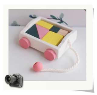 Dollhouse Miniature Toys Wooden blocks B4