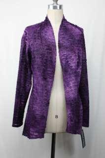 Frank Lyman Design Purple Cardigan Sz 10 12 14 16 New UK 12 14 16 18