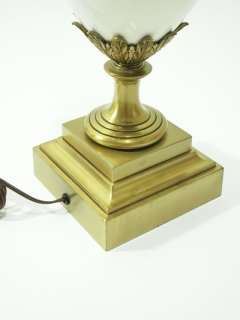 Mid Century Modern Stiffel Lenox Hollywood Regency Brass Table Lamp