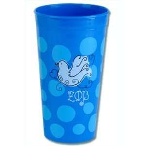Zeta Phi Beta polka dot tumbler: Everything Else