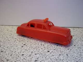 VINTAGE THOMAS TOY ACME TAXI CAB WITH RUBBER TIRES
