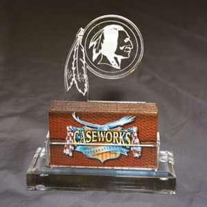 Washington Redskins NFL Business Card Holder w/ Gift Box