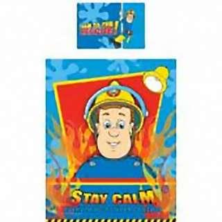 FIREMAN SAM HERO JUNIOR COT BEDDING DUVET COVER SET NEW 5055285321109