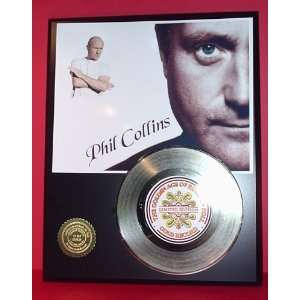 Gold Record Outlet Phil Collins 24kt Gold Record Display LTD