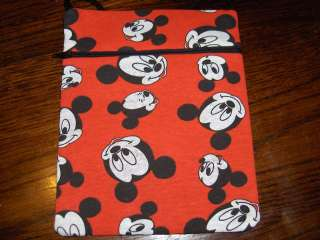 Mickey Mouse fabric purse bag tablet kindle case 2