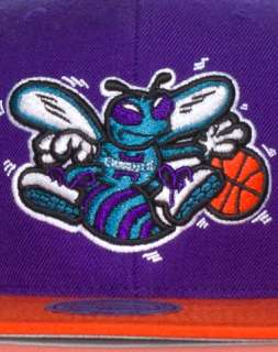 MITCHELL AND NESS CHARLOTTE HORNETS NBA SNAPBACK CAP