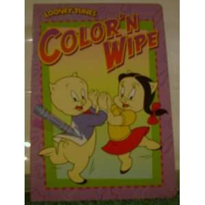 Looney Tunes Color N Wipe Unknown Books