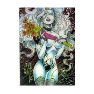 LADY DEATH CHROMIUM JIM BALENT CHASE CARD #2: Everything