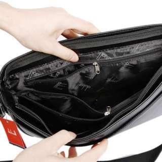 New Men Briefcase Messenger Bag Notebook Shoulder Bag Bookbag Handbag