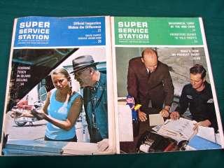 Super Service Station 1960s Gas Station Magazines