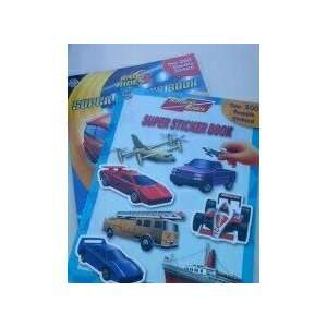 Radical Rides Super Sticker Book 2 Pack Phidal Books