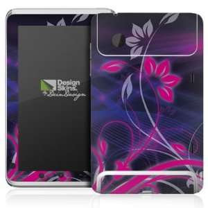 Design Skins for HTC Flyer   Space Flower in Black Design
