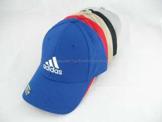 Stretch Fit Cap Hat Basketball Soccer Golf Black Blue Red Gray Brown