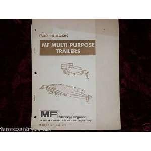 Massey Ferguson Model 399 Oem Parts Manual