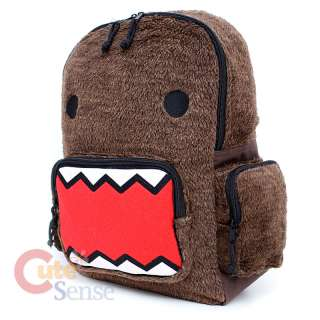 Domo Kun Plush School Backpack 16 Large Bag  Licensed