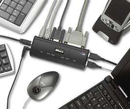 TARGUS MOBILE DOCKING STATION USB Laptop Notebook Ports