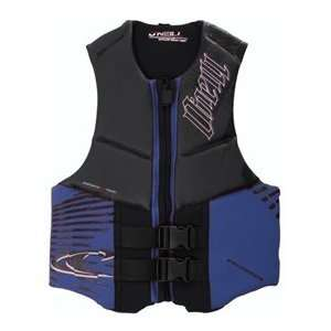 2012 Oneill Mens Outlaw Comp Vest   Blk/Blue: Sports