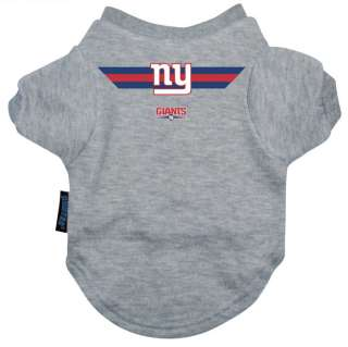 New York Giants Official NFL Tee Shirt for Dogs