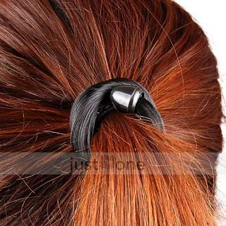Unique Fashion Women Lady Girl Synthetic Hair Ponytail Holders Elastic