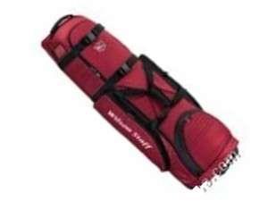Wilson Staff B1418 Deluxe Wheeled Golf Travel Bag   New