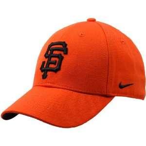 Nike San Francisco Giants Orange Wool Classic Adjustable