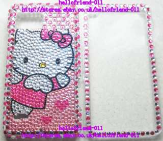 kitty Bling Full Case Cover For Motorola Droid Bionic XT875 #10