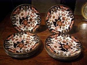Royal Crown Derby Imari (12) Dinner Plates 383 1877 90